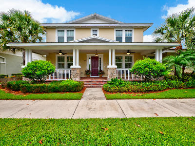 Jupiter Single Family Home For Sale: 2707 Sunbury Drive