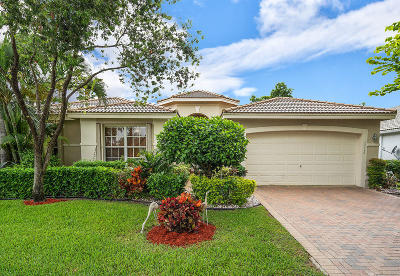 Delray Beach Single Family Home For Sale: 13316 Alhambra Lake Circle