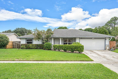 Royal Palm Beach Single Family Home Contingent: 228 Ponce De Leon Street