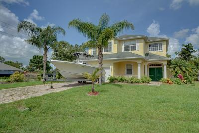 Port Saint Lucie Single Family Home For Sale: 2004 SW Driftwood Street