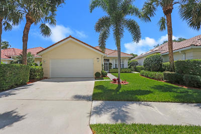 Palm Beach Gardens Single Family Home For Sale: 301 Kelsey Park Circle