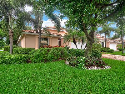 Boynton Beach Single Family Home For Sale: 7136 Modena Drive