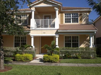 Delray Beach Single Family Home For Sale: 1487 W Bexley Park Drive