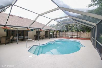 Wellington Single Family Home For Sale: 1420 Wood Dale Terrace