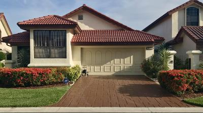 Boca Raton Single Family Home For Sale: 21778 Club Villa Terrace
