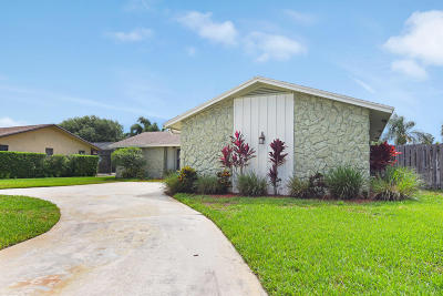 Palm Beach Gardens Single Family Home For Sale: 11758 Hemlock Street