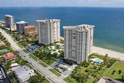 Boca Raton Condo Sold: 500 S Ocean Boulevard #2209