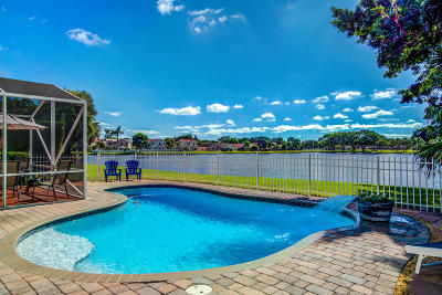 Boynton Beach Single Family Home For Sale: 6244 Windlass Circle