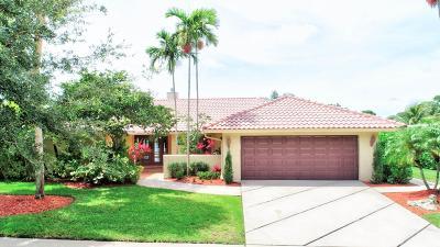 Boca Raton Single Family Home For Sale: 7515 Estrella Circle