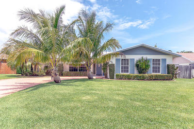 Tequesta Single Family Home Contingent: 4885 Bimini Road