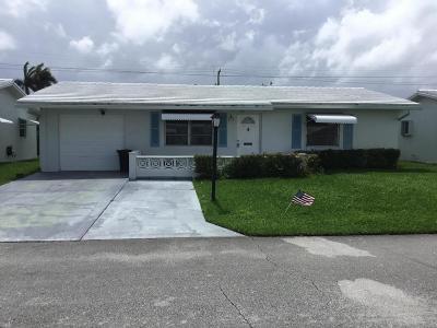 boynton beach Single Family Home Contingent: 1310 SW 24th Street