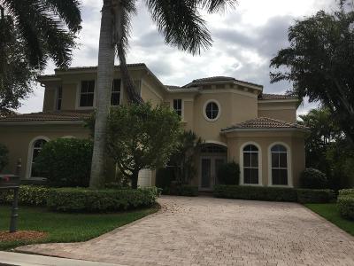 Palm Beach Gardens Rental For Rent: 117 Tranquilla Drive