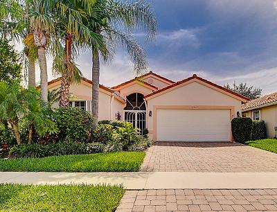 Boynton Beach Single Family Home For Sale: 11563 Bristol Wood Avenue