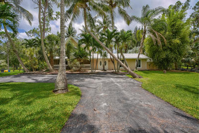 Jupiter Single Family Home For Sale: 11278 165th Road