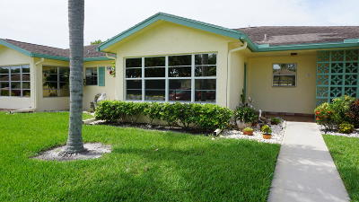 Delray Beach Single Family Home For Sale: 14270 Nesting Way #C