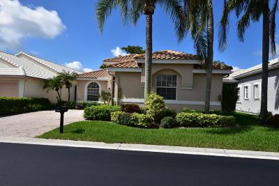 Boynton Beach Single Family Home For Sale: 6338 Crystal View Lane
