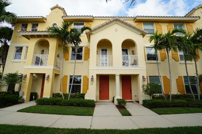 Boynton Beach Townhouse Contingent: 1518 Via Alferi