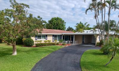Boca Raton Single Family Home For Sale: 807 SW 2nd Street