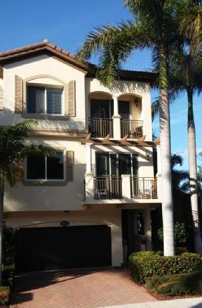 Boynton Beach Rental For Rent: 3032 Waterside Circle