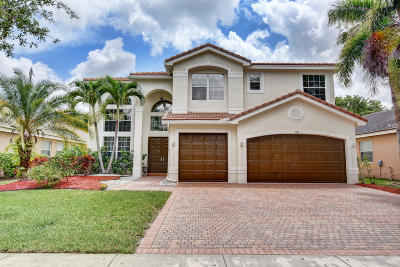 Delray Beach Single Family Home For Sale: 9718 Napoli Woods Lane