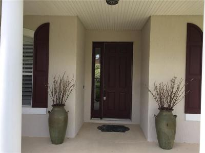 Sebastian Single Family Home Contingent: 685 Brush Foot Drive