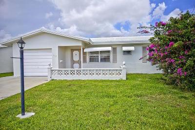 Boynton Beach Single Family Home For Sale: 1101 SW 17th Street
