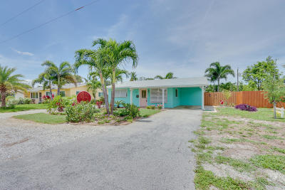 Boynton Beach Single Family Home For Sale: 137 SW 13th Avenue