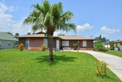 Port Saint Lucie Single Family Home Contingent: 2434 SE Warwick Street