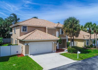 Boynton Beach Single Family Home For Sale: 77 Citrus Park Lane