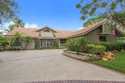 Jupiter Single Family Home Contingent: 121 Timber Lane