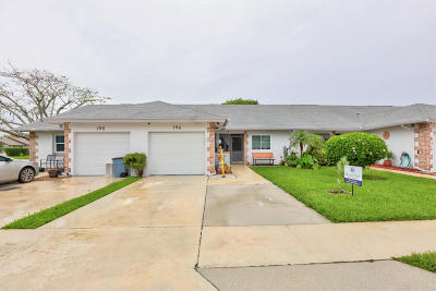 Jupiter Townhouse For Sale: 196 Bent Arrow Drive