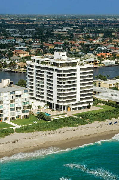 Highland Beach Condo For Sale: 2901 S Ocean Boulevard #Penthous