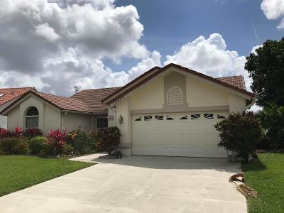 Wellington Single Family Home Contingent: 12635 White Coral Drive