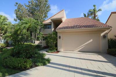Boca Raton Single Family Home For Sale: 17030 Newport Club Drive