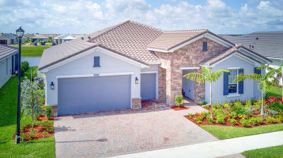 Port Saint Lucie Single Family Home For Sale: 9907 Coral Tree Circle
