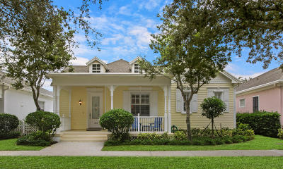 Jupiter Single Family Home For Sale: 288 New Haven Boulevard