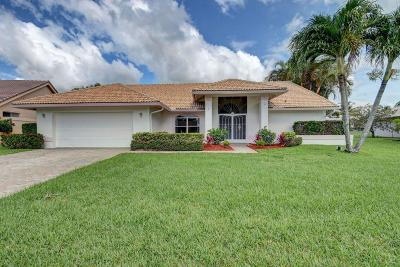 Lake Worth Single Family Home For Sale: 6775 Turtle Point Drive