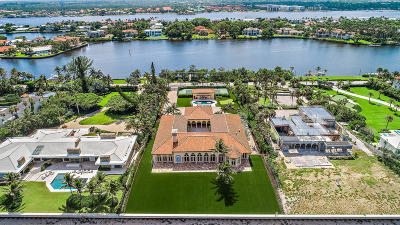 Manalapan Single Family Home For Sale: 1160 S Ocean Boulevard