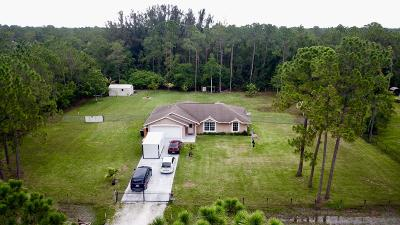 Loxahatchee Single Family Home Contingent: 16627 83rd Place