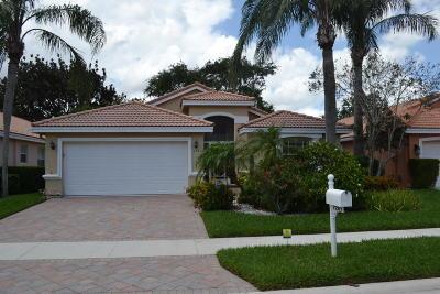 Boynton Beach Single Family Home For Sale: 7261 Modena Drive