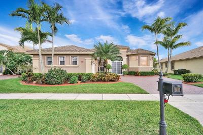 West Palm Beach Single Family Home For Sale: 9457 Lantern Bay Circle