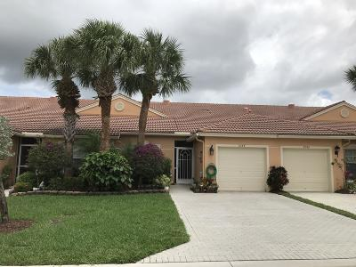 Boynton Beach Single Family Home For Sale: 8544 Logia Circle