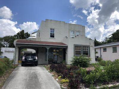 West Palm Beach Single Family Home For Sale: 812 35th Street