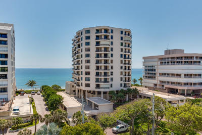 Highland Beach Condo For Sale: 3201 S Ocean Boulevard #604