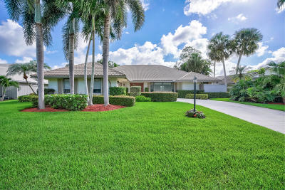 Palm Beach Gardens Single Family Home Contingent: 20 Huntly Drive