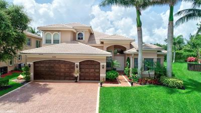 Boynton Beach Single Family Home For Sale: 11041 Brandywine Lake Way