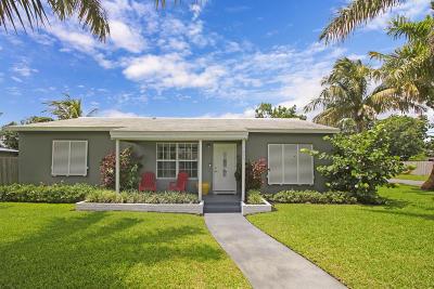 Boynton Beach Single Family Home For Sale: 204 SE 2nd Avenue