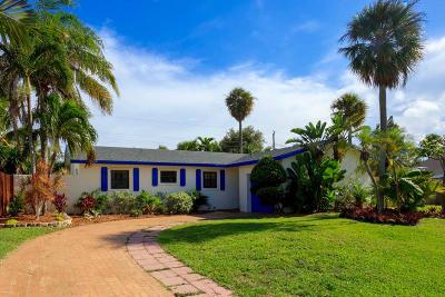 Delray Beach Single Family Home For Sale: 802 Mallard Drive