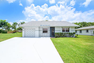 Delray Beach Single Family Home For Sale: 6244 Stanley Lane