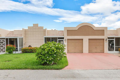 Boca Raton Single Family Home Contingent: 9111 Fairbanks Lane #6